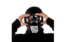 Mons Royale Neck Warmer black reflect